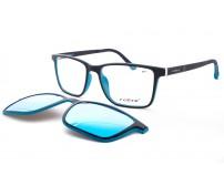 Brýle Se Slunečním Klipem RM 118 c2 zrcadlové