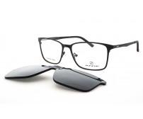 Pánské Kovové Brýle Se Slunečním Klipem OZZIE 5979B Nepolarizační