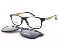 dětské brýle point 6065  c4 se slunečním klipem