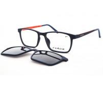 Dětské Plastové Brýle Se Slunečním Klipem Polarizační RM117 C2