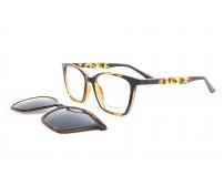 dioptrické brýle se slunečním klipem PG7240B