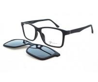 dioptrické brýle se slunečním klipem Grormanns 18-5611-5416