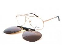 dioptrické brýle se slunečním a žlutým klipem Gormanns 18-1544-5816