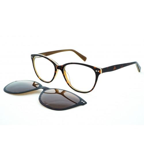 dámské dioptrické brýle se slunečním klipem OU96.370.01 0219