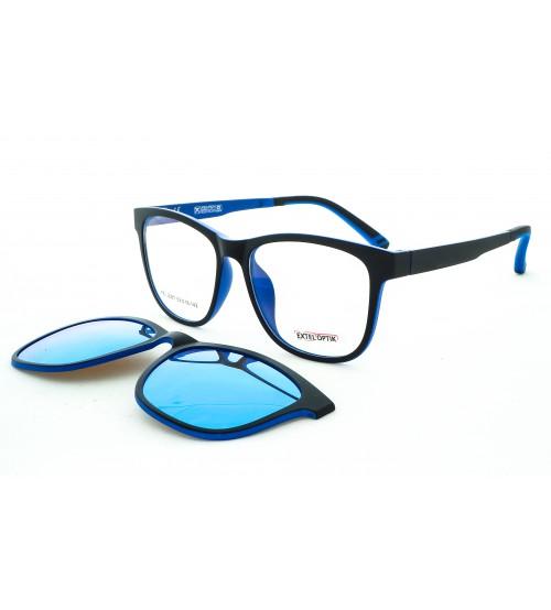 Dioptrické brýle se slunečním klipem 2087 c4