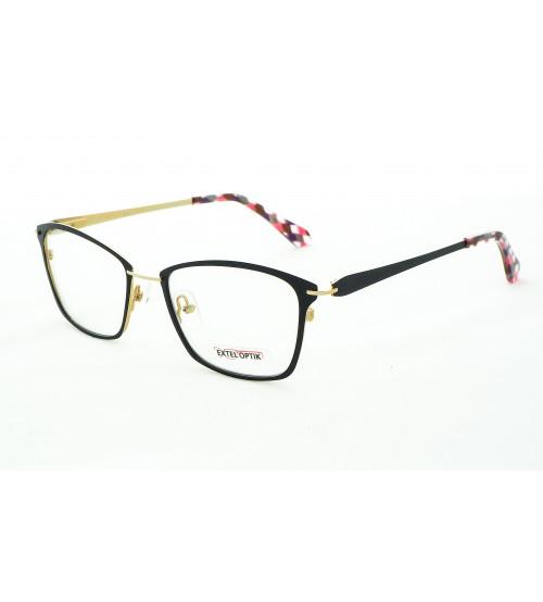 dámské černé brýle Extel 9142 c1