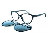 Dioptrické brýle se 2 slunečními klipy centrostyle F007754001