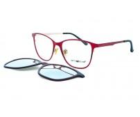 Dioptrické brýle se slunečním klipem Centrostyle F015051254 zrcadlové