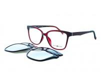 Dioptrické brýle se 2 slunečními klipy centrostyle F007653015