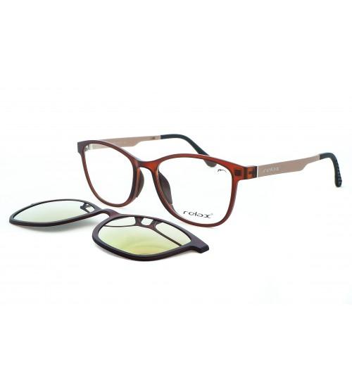 Dioptrické Brýle Se Slunečním Klipem Relax RM112 c1