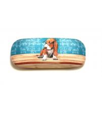 pouzdro pes s brýlemi
