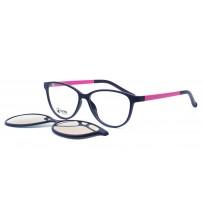 dámské brýle se slunečním klipem zrcadlovým Ultem 6062 c2