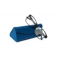 skládací pouzdro na brýle F510 modré