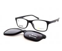 Brýle Point 6065 C81 Se Slunečním Klipem pro úzký obličej a vysoké dioptrie