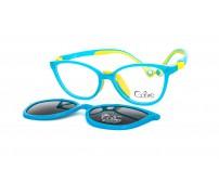 Cooline 19997 c5 modré dětské brýle se slunečním klipem a klipem proti modrému světlu
