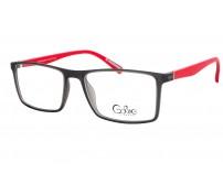 Cooline 097 c4 pánské šedé brýle s červenými stranicemi