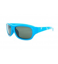 Dětské modré sluneční brýle 5-9 let 4P01 Polarizační
