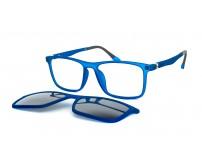 modré junior brýle 8821 c04 se slunečním klipem