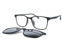 CRH 9-21213 c5 černo šedé brýle se slunečním klipem