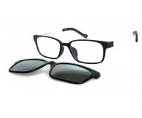 Úzké brýle KT1301 C1 se slunečním klipem