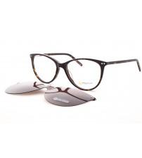 dámské brýle se slunečním klipem point 6080 c2