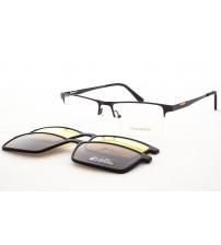 pánské brýle Se Slunečními Klipy Mondo 0580 c51 + 2 klipy