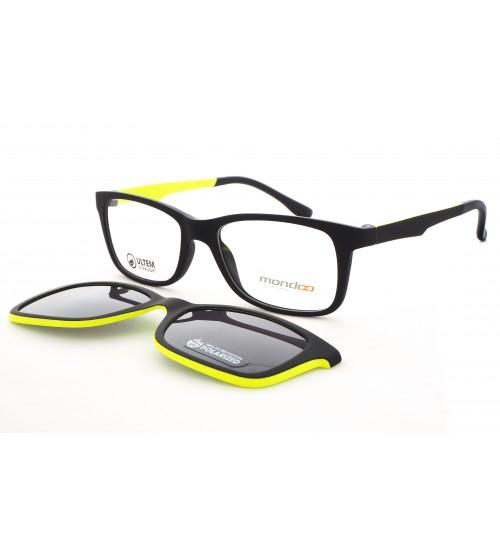dětské brýle se slunečním klipem mondo 0550 c3