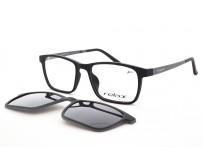 dětské plastové brýle se slunečním klipem polarizační RM117 c1
