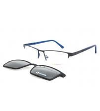 brýle se slunečním klipem Point 6083 c3 modré