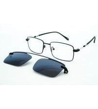 pánské kovové brýle se slunečním klipem DC3043 c1