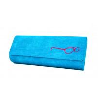 brýlové pouzdro Royal Case modré 800131