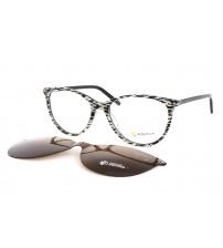 Dámské Brýle Se Slunečním Klipem Point 6080 c3