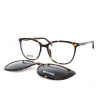 dámské brýle se slunečním klipem hnědé Point 6100 c1