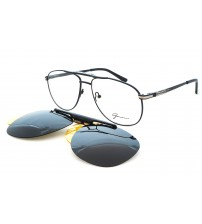 dioptrické brýle se slunečním a rozjasňovacím klipem Gormanns 18-1511-5816