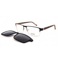 dioptrické brýle se slunečním klipem HG5209 c1 černé