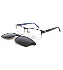 dioptrické brýle se slunečním klipem HG5209 c3 modré