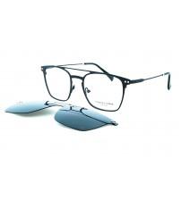Dioptrické brýle se slunečním klipem Charles stone NY30037 c1 černá
