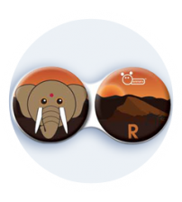 pouzdro slon indický