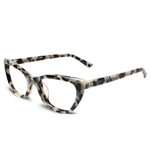 kočičí dámské brýle converse p006 white turtoase