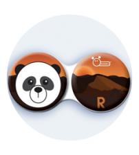 pouzdro panda