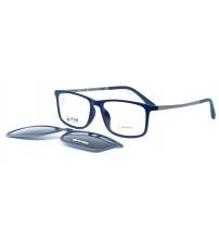 pánské modré brýle se slunečním klipem Ultem 6057 c5