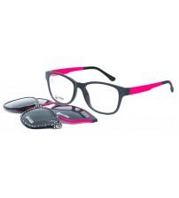 dámské brýle se slunečními klipy point 6059 c2+2klipy