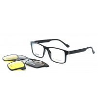 pánské brýle se slunečními klipy POINT 6058 C1 + 2 KLIPY
