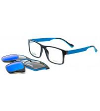 pánské brýle s klipy POINT 6058 C3 + 2 KLIPY