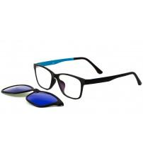 dioptrické brýle TJ002 c3 se zrcadlovým klipem