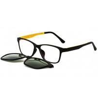 dioptrické brýle TJ002 c4 se slunečním klipem