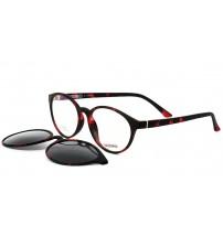 dioptrické brýle se slunečním klipem 2123 c063